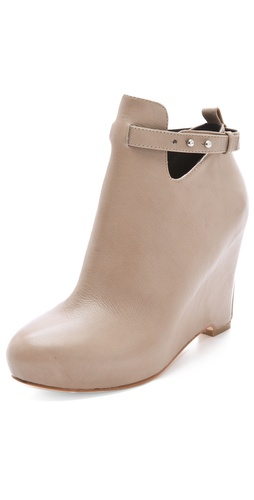 Elizabeth and James Peri Wedge Booties at Shopbop / East Dane