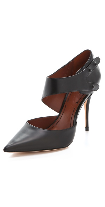 Elizabeth and James Sand Leather Pumps