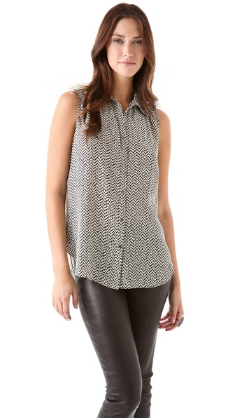 Elizabeth and James Julian Sleeveless Blouse
