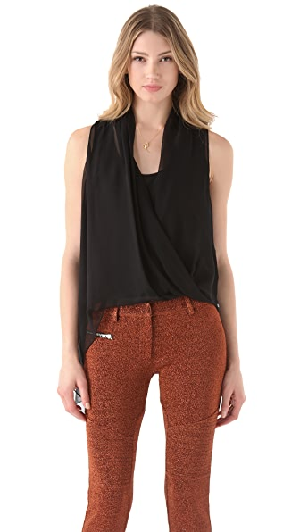 Elizabeth and James Jillian Draped Top