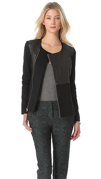 Elizabeth and James Trudy Leather Jacket