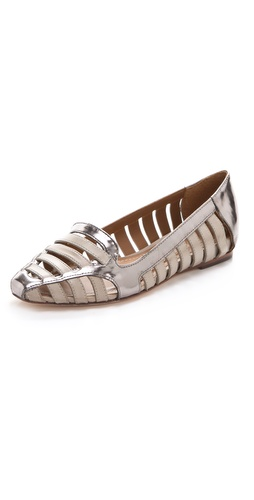 Elizabeth and James Gemma Metallic Flats