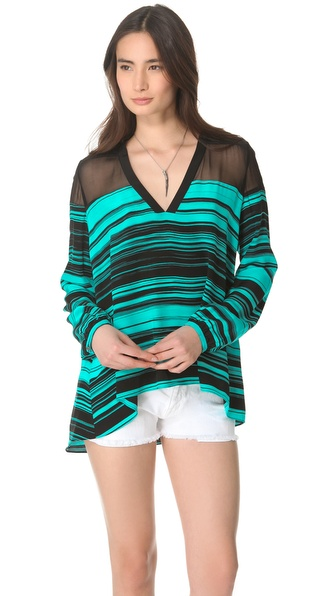 Elizabeth and James Chroma Karin Blouse