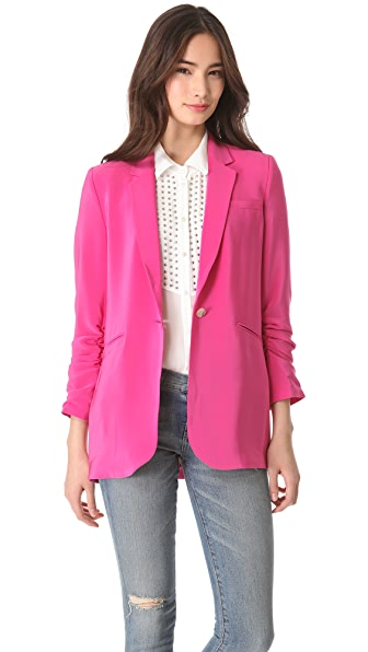 Elizabeth and James Crepe Heather Blazer