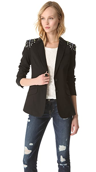 Elizabeth and James Capone Blazer