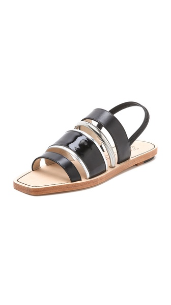 Elizabeth and James Nicki Multi Band Sandals