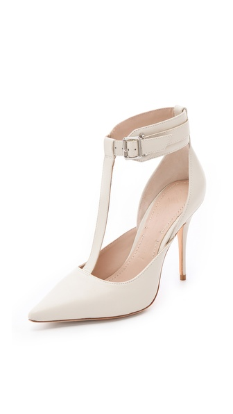 Elizabeth and James Saucy Ankle Cuff Pumps