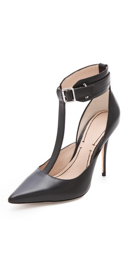 Shop Elizabeth and James Saucy Ankle Cuff Pumps - Elizabeth and James online - Footwear,Womens,Footwear,Pumps_(Heels), at Lilychic Australian Clothes Online Store