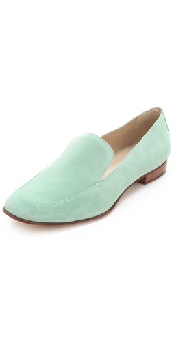 Shop Elizabeth and James Cassi Suede Loafers - Elizabeth and James online - Footwear,Womens,Footwear,Flats, at Lilychic Australian Clothes Online Store