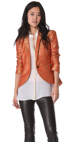 Elizabeth and James Wren Jacquard Blazer