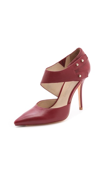 Elizabeth and James Sand d'Orsay Pumps