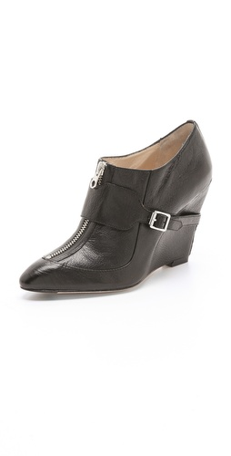 Elizabeth and James Raffa Wedge Booties at Shopbop / East Dane