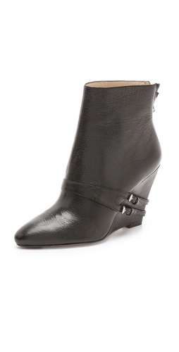 Elizabeth and James Reily Wedge Booties at Shopbop / East Dane