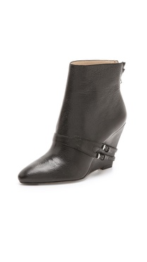 Elizabeth and James Reily Wedge Booties