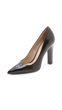Elizabeth and James Vino Pointed Pumps