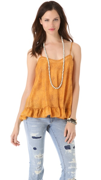 Elizabeth and James Norma Ruffle Bottom Tank