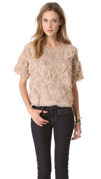 Elizabeth and James Milena Crinkle Top