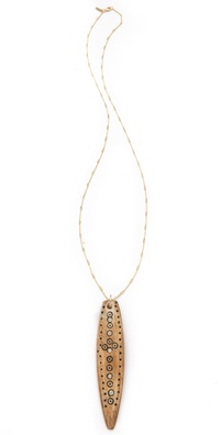 Elizabeth and James Shaman Pendant Necklace