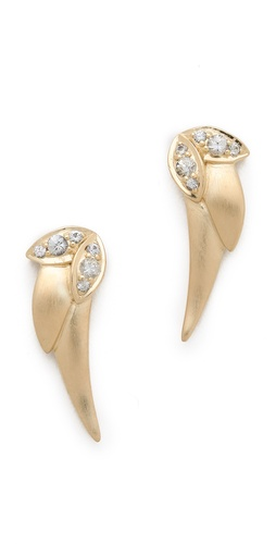Elizabeth and James Small Wing Earrings