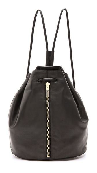Elizabeth and James Coated Leather Sling Bag