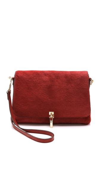 Elizabeth and James Haircalf Mini Cross Body Bag