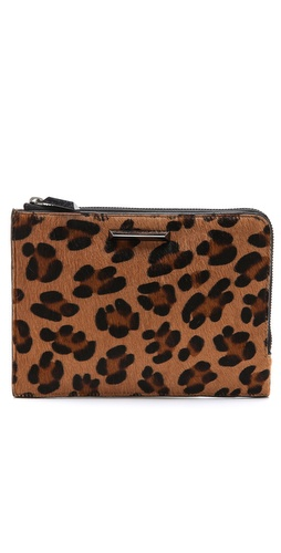 Elizabeth and James Print Haircalf Zip Wallet at Shopbop / East Dane