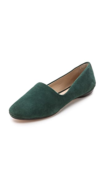 Elizabeth and James Felix Suede Flat Loafers