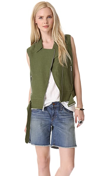 Elizabeth and James Tegan Biker Vest