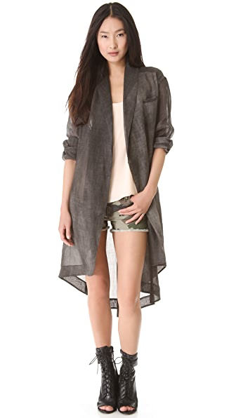 Elizabeth and James Evona Trench Coat