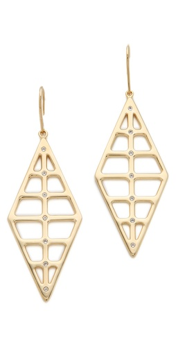 Elizabeth and James Berlin 2 Window Earrings