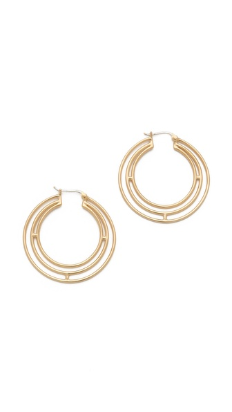 Elizabeth and James Berlin Triple Hoop Earrings