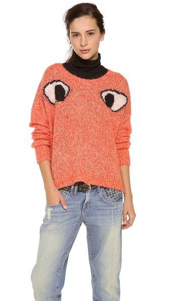 Elizabeth and James Googly Eyes Sweater