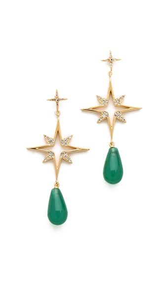 Elizabeth and James Northern Star Open Earrings