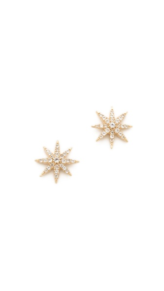 Elizabeth and James Northern Star Stud Earrings