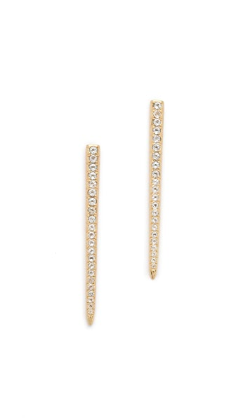 Elizabeth and James Celestial Pave Earrings