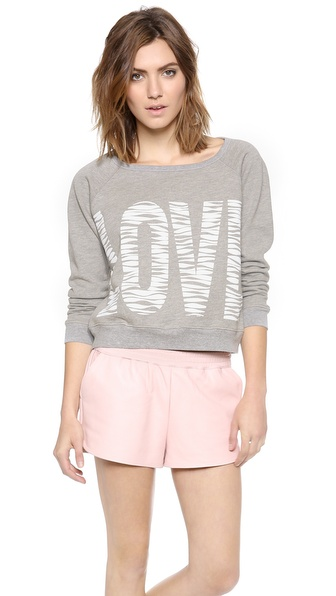 Elizabeth and James Hewitt Love Sweatshirt