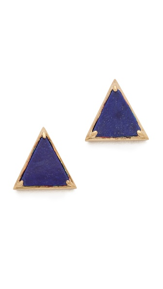 Elizabeth and James Metropolis Pyramid Stud Earrings