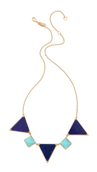 Elizabeth and James Metropolis Triangle Slab & Pyramid Necklace