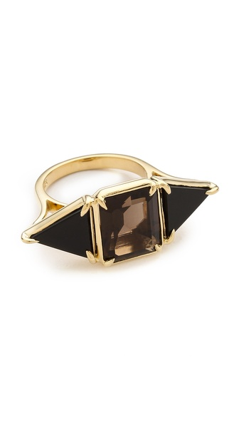 Elizabeth and James Metropolis Triangle Cocktail Ring