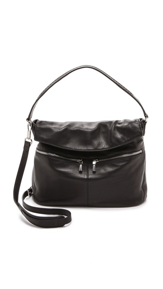 Elizabeth and James Cynnie Flap Hobo Bag