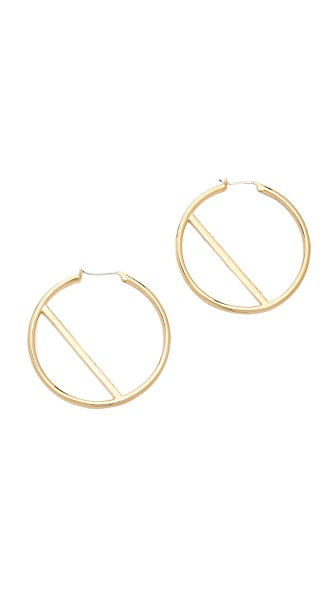 Elizabeth and James Velde Hoop Earrings