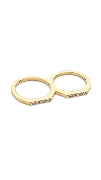 Elizabeth and James Two Finger Artic Ring