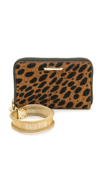 Elizabeth And James Pyramid Haircalf Smartphone Wallet - Cognac at Shopbop