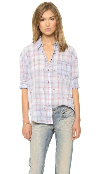 Elizabeth and James Embellished Carine Shirt