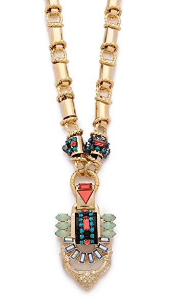Elizabeth Cole Statement Pendant Necklace