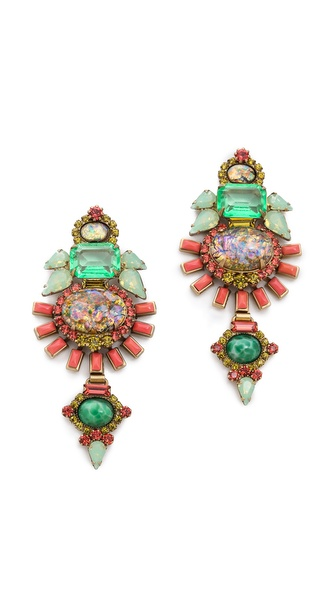 Elizabeth Cole Henning Earrings