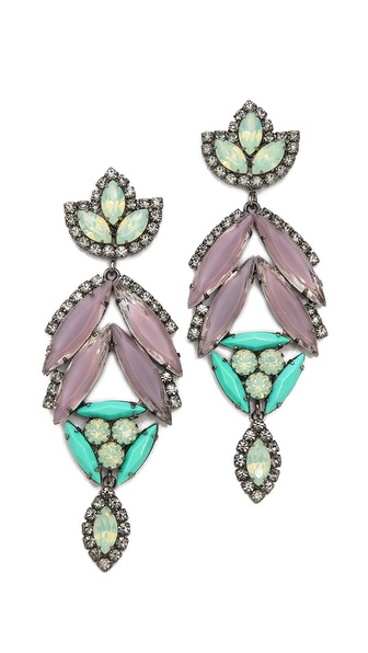 Elizabeth Cole Large Arrowhead Earrings
