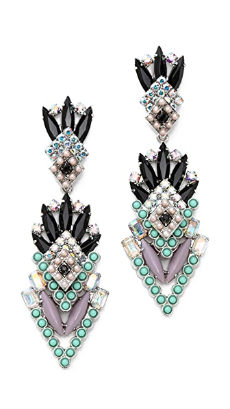 Elizabeth Cole The Original Rouge Earrings