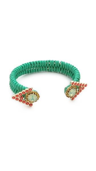 Elizabeth Cole Open Cuff Bracelet