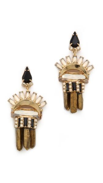 Elizabeth Cole Leah Earrings